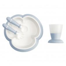 Набор посуды для ребенка Baby Bjorn Baby Feeding Set Powder Blue