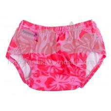 Трусики для плавания Aquanappies Розовый гибискус 3-30 мес