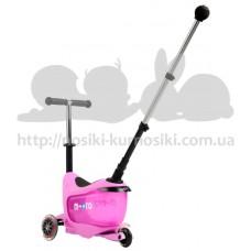 Самокат Mini Micro 2go Deluxe Pink Plus