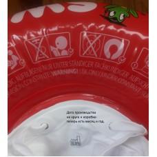 Круги Swimtrainer новый материал 2018: красный, оранжевый, желтый круги -круг для обучения плаванию безопасно