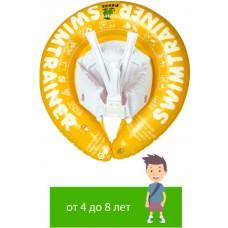 Круг для плавания Swimtrainer желтый- нарукавники детский для плавания-купить детский круг в интернет магазин Носики курносики
