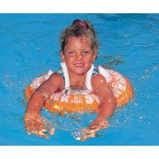 Круг для плавания Swimtrainer красный оранжевый- Свимтрейнер -купить детский интернет магазин Носики курносики