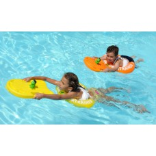 Круг для плавания Swimtrainer оранжевый желтый- Свимтрейнер -купить детский круг в интернет магазин Носики курносики