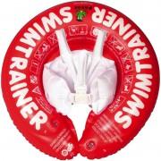 Надувной круг Swimtrainer красный для новорожденных 6-18 кг
