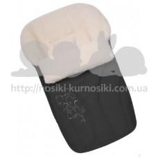 Зимний конверт на овчине N 25 Zaffiro Womar графит