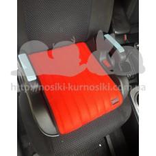 Автокресло бустер Eternal Shield Companion красный