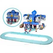 Игровой набор Штаб-квартира Robocar Poli с фигуркой Джин