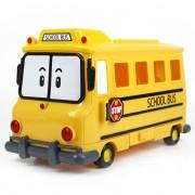 Школьный автобус металлический Robocar Poli Silverlit