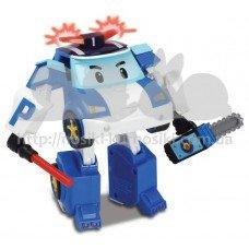 Трансформер Поли с подсветкой Robocar Poli Silverlit