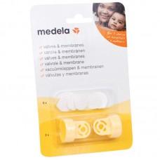 Клапан с мембраной для молокоотсосов Medela комплект 6 мембран