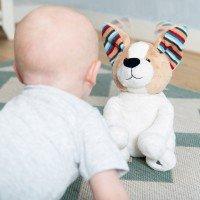 Игрушки для новорожденного с белым шумом и хлопками Zazu скидки