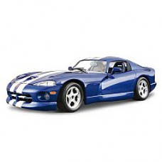 Автомобиль-конструктор  DODGE VIPER GTS COUPE (1996) (синий, 1:24)
