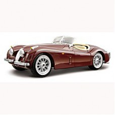 Автомобиль-конструктор  JAGUAR XK 120 ROADSTER (1948) (вишневый, 1:24)