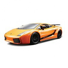 Автомобиль-конструктор  LAMBORGHINI GALLARDO SUPERLEGERRA 2007 (оранжевый металлик, 1:24)