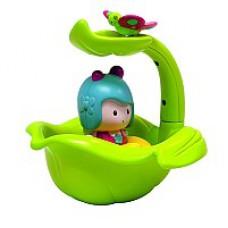 Интерактивная игрушка  МИМИ И ВОЛШЕБНАЯ ЛОДКА ЛИСТОК (для игры в ванной)