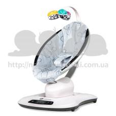 4Moms mamaRoo 4.0 укачиватель Silver Plush