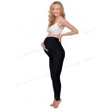 Леггинсы для беременных утепленные черные