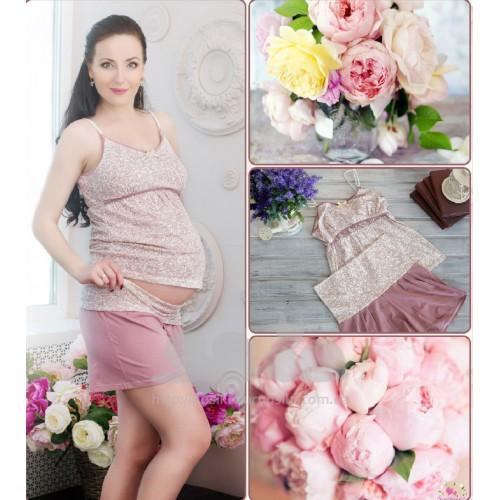 Пижама для беременных и кормления Brown Sugar MaminDom купить в ... 324a5a455ac