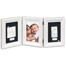 Рамочка Baby Art Double Print Frame white black