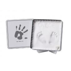 Коробочка с отпечатком Magic Box New grey квадратная
