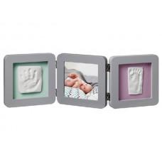 Рамочка с отпечатком тройная Print Frame Grey