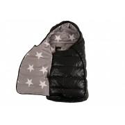 Детский термоконверт Kaiser Eskimo 68х35 см черный звездный