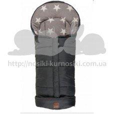 Детский термоконверт Kaiser Jooy 105х45 см антрацит звездный
