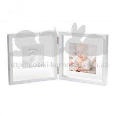 Двойная рамочка Прозрачная с отпечатком