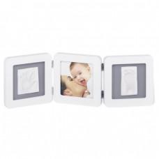 Рамочка Baby Art Double Print Frame White - Grey