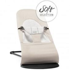 Кресло-шезлонг детский Balance Soft Джерси бежевый