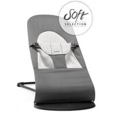 Кресло-шезлонг детский Balance Soft Джерси серый