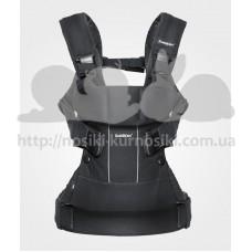 Рюкзак кенгуру Baby Bjorn Carrier ONE Black Mesh черный