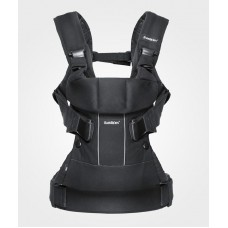 Рюкзак кенгуру Baby Bjorn Carrier ONE Black Mesh черный