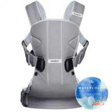 Рюкзак кенгуру Baby Bjorn Carrier ONE Silver Mesh