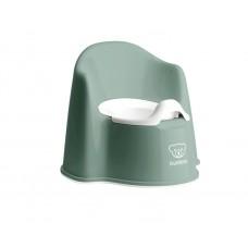 Детский горшок Baby Bjorn Potty Chair зеленый белый