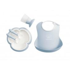 Набор посуды для ребенка Baby Bjorn Baby Dinner Set Powder Blue