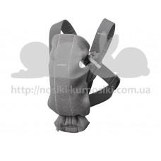 Рюкзак-кенгуру Baby Bjorn Baby Carrier Mini Dark grey 3D Jersey