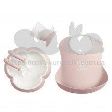 Набор посуды для ребенка Baby Bjorn Baby Dinner Set Powder Pink