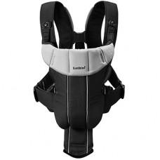 Рюкзак кенгуру Active Baby Bjorn черный-серебристый