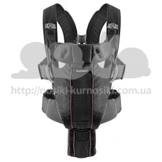 Рюкзак-кенгуру Baby Bjorn Carrier Miracle Mesh Black