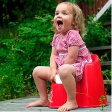 Горшок-кресло Baby Bjorn Potty Chair красный