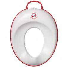 Накладка детская на унитаз Baby Bjorn Toilet Trainer белый красный