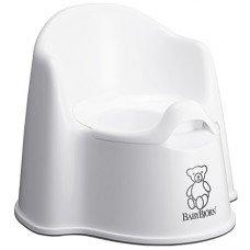 Горшок-кресло Baby Bjorn Potty Chair белый