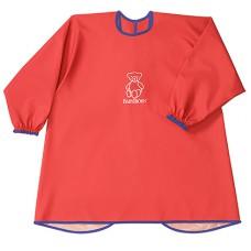 Детская защитная рубашка для игры и еды Baby Bjorn красный