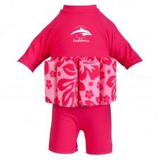 Купальник-поплавок Konfidence Floatsuits Hibiscus Pink M 2-3 года
