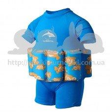 Купальник-поплавок Konfidence Floatsuits Clownfish S 1-2 года
