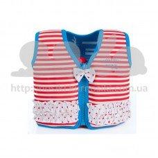 Жилет для плавания Konfidence Original Jacket Hamptons Red Stripe M 4-5 лет