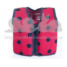 Жилет для плавания Konfidence Original Jacket Ladybird Polka S 18 мес-3 года