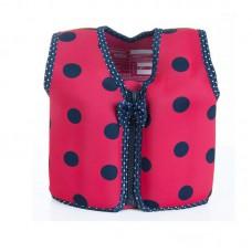Жилет для плавания Konfidence Original Jacket Ladybird Polka L 6-7 лет