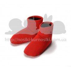 Неопреновые носки для бассейна и пляжа Paddler красный 6-12 мес